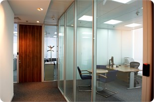 Alltype Glass, office partitions, glass walls, glass doors, glass windows.